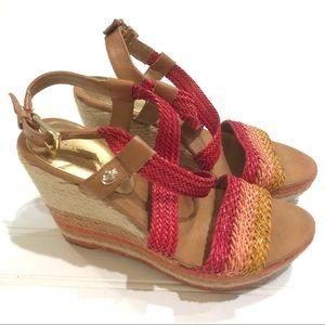 IVANKA TRUMP Tally Espadrilles Wedges Sandals